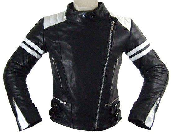 damen retro motorrad lederjacke leder motorradjacke l 40. Black Bedroom Furniture Sets. Home Design Ideas