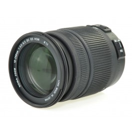 SIGMA 18-250mm DC MACRO Objektiv OS HSM - For Canon Top