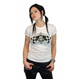 "Lucky 13 Girlie T-Shirt ""Catch me"""