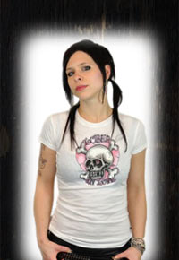 """Loser in Love"" Lucky 13 Girlie Shirt"